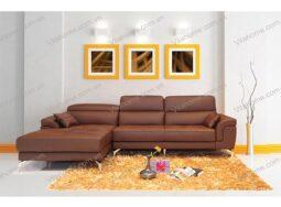 Sofa da cao cấp GD – 008