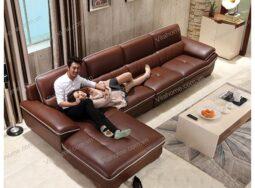 Sofa da cao cấp GD – 011