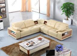 Ghế Sofa Phòng Khách Đa Năng Bọc Da – 806