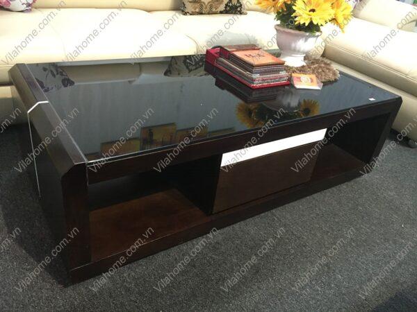 bàn sofa mặt kính