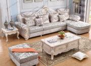 Các chất liệu thường sử dụng để làm sofa tân cổ điển