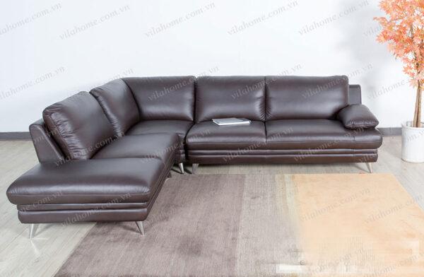 sofa da Ý nhập 2136