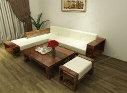 Sofa Gỗ Đẹp – 1729