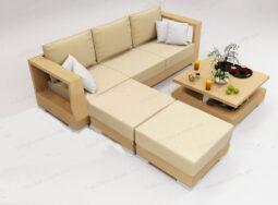 Sofa Gỗ Đẹp – 1731