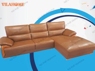 Bộ góc trái sofa da nhập - NK01 - Xưởng đóng ghế sofa ở hà nội