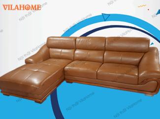 Bo-NK-04 - Sofa da góc giá rẻ