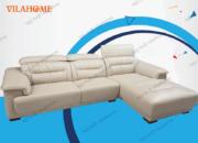 Bộ góc trái sofa da nhập - NK11 - Bộ bàn ghế sofa cao cấp