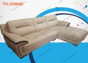 Ghế sofa góc giá rẻ - Ghế sofa giả da ở hà nội