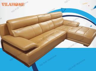 Bộ góc trái sofa da nhập - NK17 - Sofa phòng khách chữ L