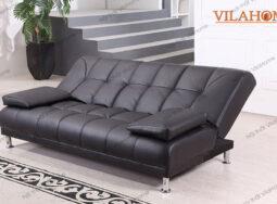 Mẫu Ghế Sofa Giường Đơn Bọc Da Sang Trọng – 1563