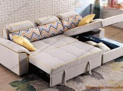 Ghế Sofa Thành Giường Góc Mới Nhất 2020  – 1596
