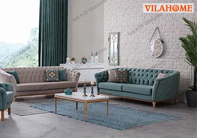 Ý tưởng trang trí phòng khách độc đáo với sofa nhỏ