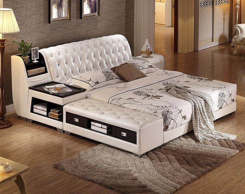 Giường hiện đại đa năng nâng lên hạ xuống