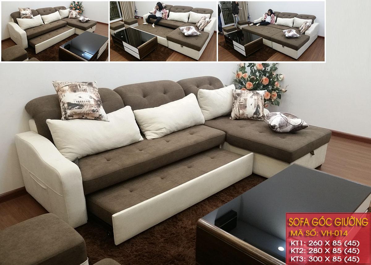 Sofa giường thông minh, đa năng tại vilahome