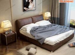 Giường Ngủ Bọc Da Hiện Đại GN-7005