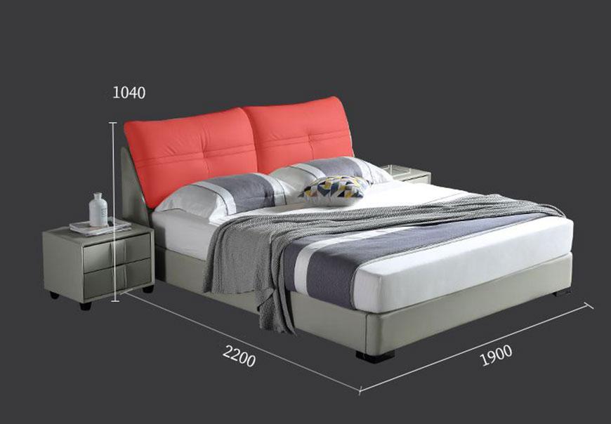 Giường Ngủ Bọc Da Đầu Giường GN-7006