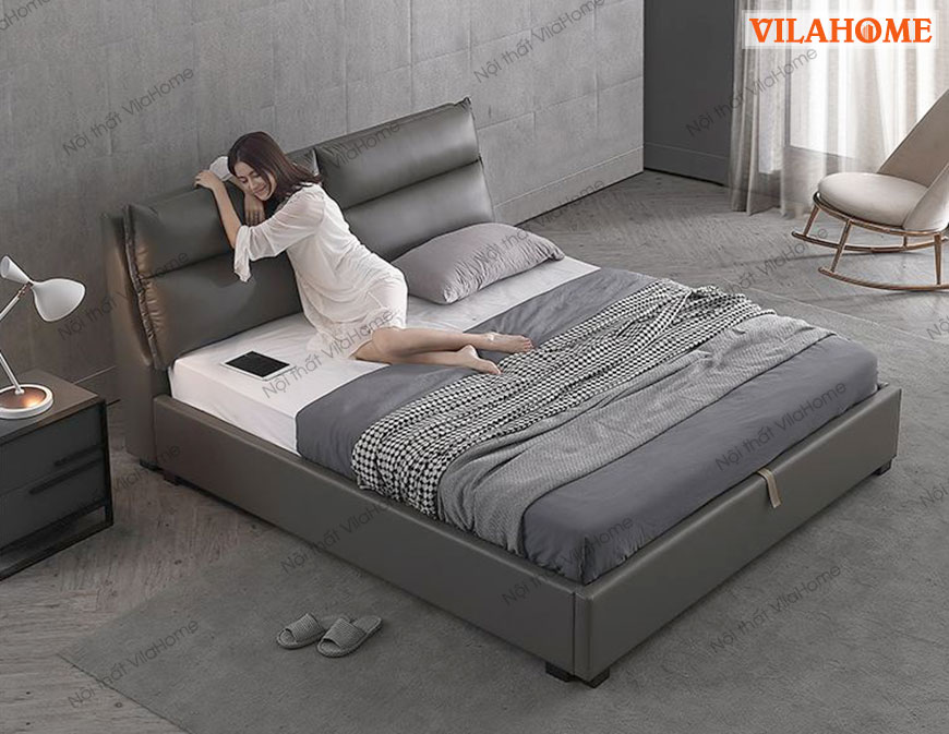Mẫu giường ngủ đẹp vilahome