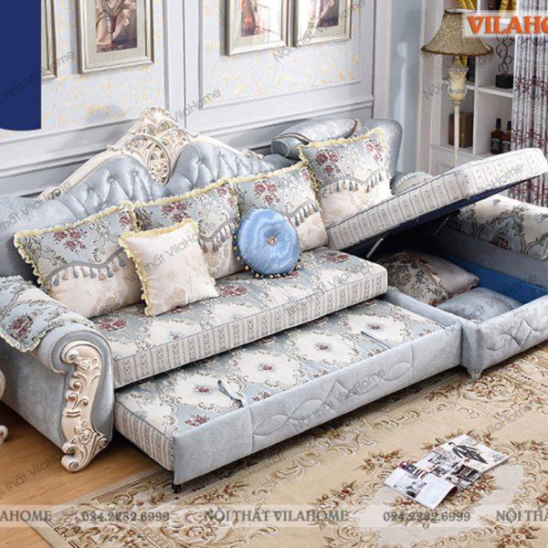 ghế sofa tân cổ điển kéo thành giường