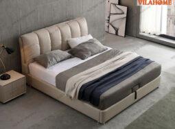 Giường ngủ bọc da – 7019