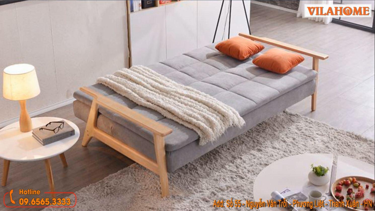 sofa bed gỗ