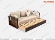 Sofa giường gỗ chất lượng