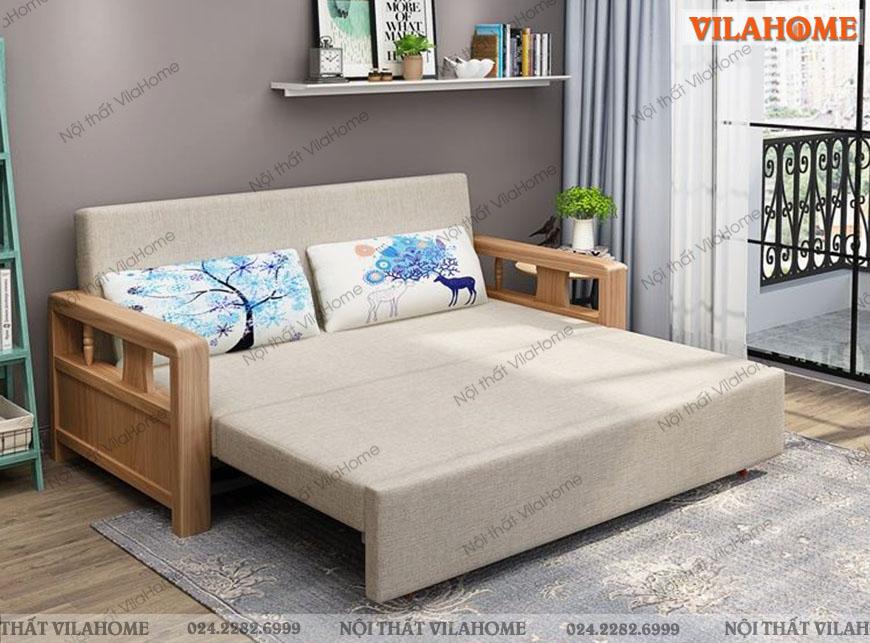 Sofa giường gỗ đạt chất lượng cao