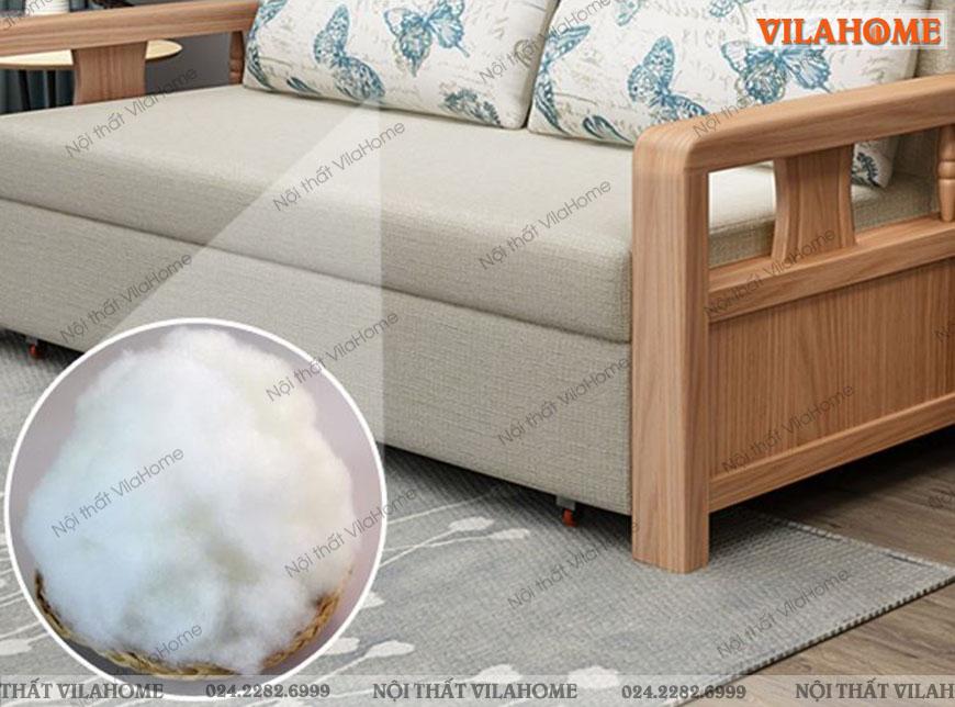 Top các mẫu sofa giường gỗ đẹp S901
