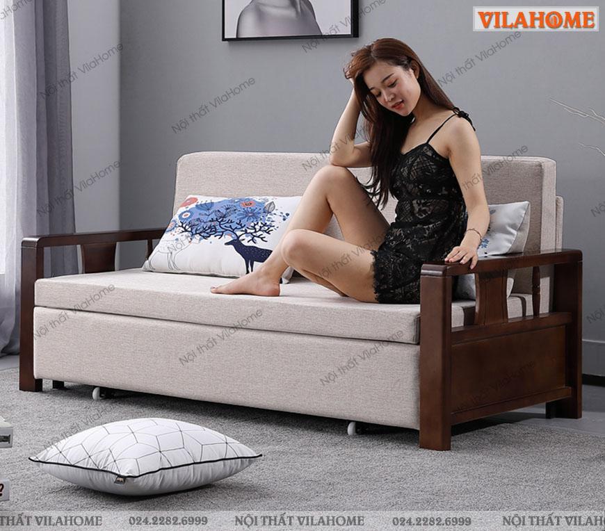TOP 10+ mẫu sofa giường gỗ đa năng đẹp nhất hiện nay 2020