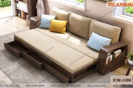 Xu hướng chọn ghế sofa giường đa năng cho không gian hiện đại