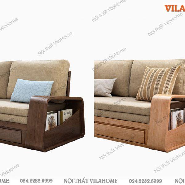 Mẫu sofa giường gỗ đẹp G905