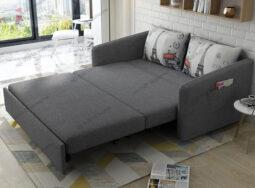 Ghế Sofa Giường Nỉ Thông Minh Giá Rẻ – S904