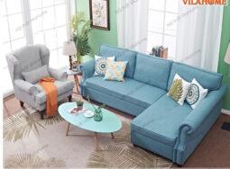 Mẫu Ghế Sofa Giường Bọc Vải Đa Năng Đẹp – 9920