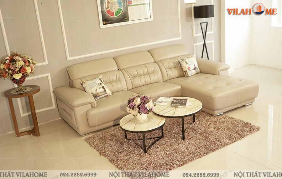 Kích thước sofa da phòng khách