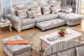 Kích Thước Sofa Giường Tân Cổ Điển Bao Nhiêu Là Hợp Lý Nhất? – Nội Thất VilaHome