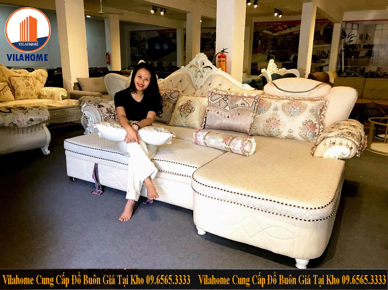 Kho trưng bày sa lông giường ở Hà Nội