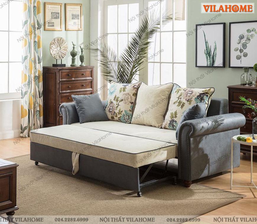Mẫu sofa giường tân cổ điển tại VilaHome