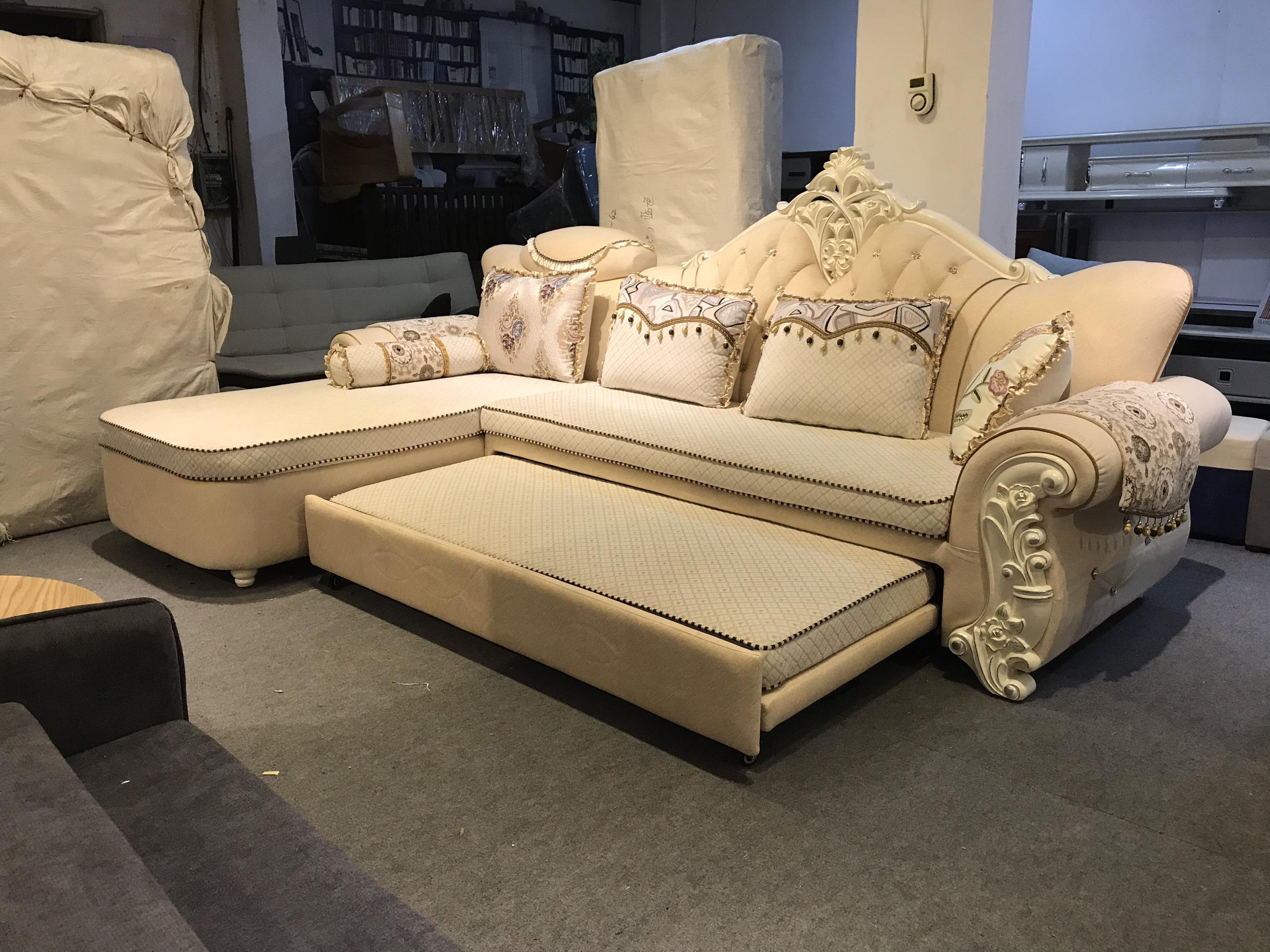 Sofa tân cổ điển hàng nhập khẩu có chức năng giường ngủ thông minh đa năng đang bán chạy nhất tại Hà Nội