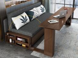 Mẫu Ghế Sofa Kéo Ra Thành Giường Ngủ Đẹp – GS03