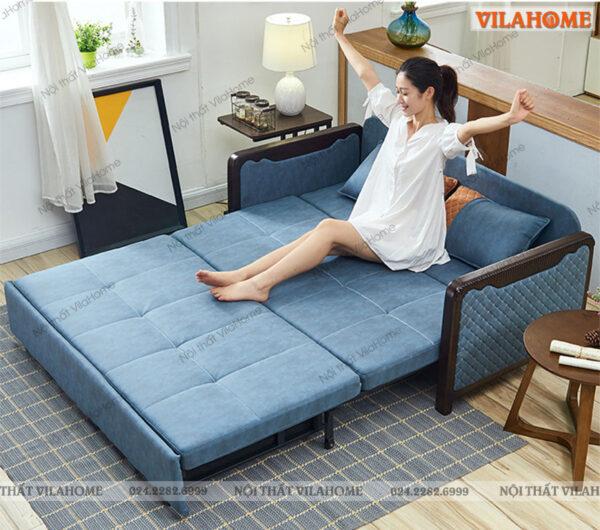 Giường thông minh kèm sofa đa năng giá rẻ. Địa chỉ mua sofa đa năng tại Hà Nội VilaHome