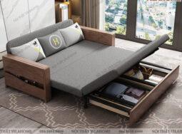 Sofa Giường Gỗ Thông Minh, Hiện Đại – GS05