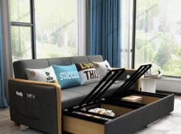 Sofa Giường Nỉ Mẫu Mới 2020,2021 – S906
