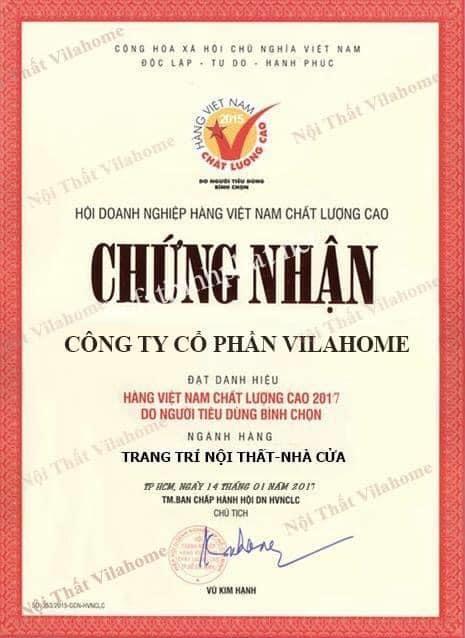 Vilahome đạt giải thưởng hàng Việt Nam chất lượng cao
