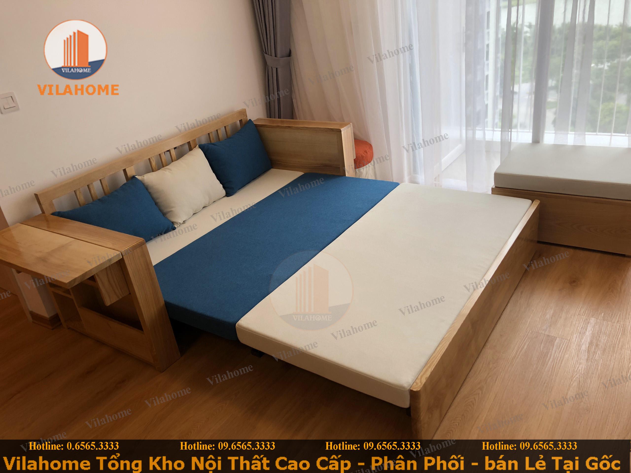 ghế kết hợp giường