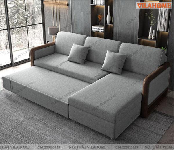 địa chỉ mua ghế giường gấp gỗ sồi tự nhiên, giá rẻ, đa năng và thông minh