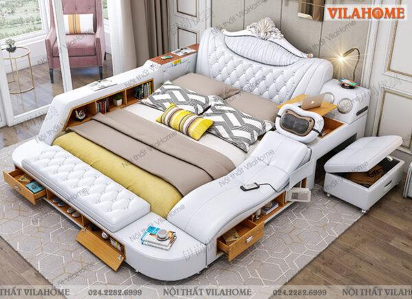 Giường ngủ Tatami có ghế massage GM15 sale 15% tại Vilahome